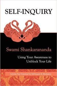 Self Inquiry book cover by Swami Shankarananda
